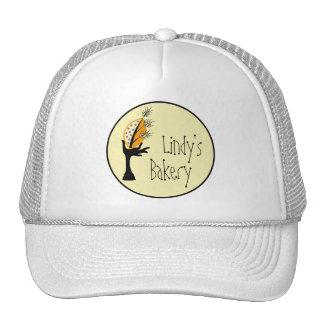 Bakery Business Corporate Branding Design Set Trucker Hat