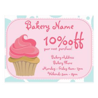 Bakery Business Postcard