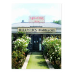 Bakery&Cafe de Nueva Zelanda Hillyer Tarjetas Postales