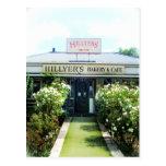 Bakery&Cafe de Nueva Zelanda Hillyer Tarjeta Postal