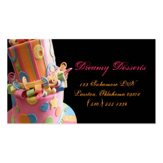 bakery,cake,business card,fun,yummy,colorful,cute
