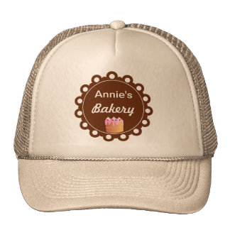 Bakery Cake  -  Business Hats Caps