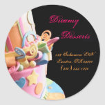 bakery cake business sticker yummy colorful cute