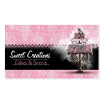 Bakery/Cakes/Sweets Creations Double-Sided Standard Business Cards (Pack Of 100)