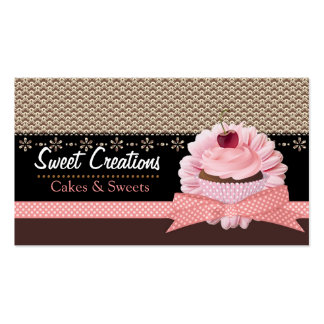Bakery/Cakes/Sweets Creations Business Card