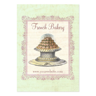 Bakery, Candy Shop, Elegant Vintage Business Cards