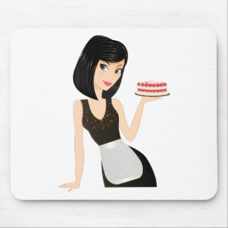 Bakery Chef Mouse Pad