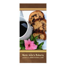 Bakery / Coffee shop Advertisement Rack Card