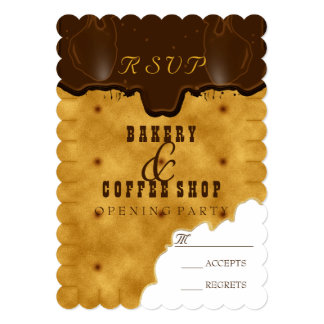 Bakery & Coffee Shop - Reply Card
