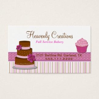 Bakery Cupcake Business Card