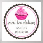 Bakery Cupcake Poster