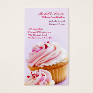 Bakery Cupcakes Business Card