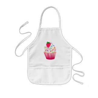 bakery,cupcakes,sweets,desserts kids' apron