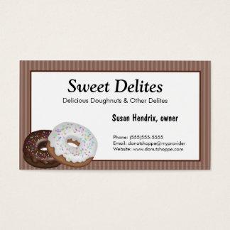Bakery Dessert Business Cards