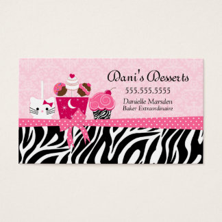 Bakery Desserts Business Card