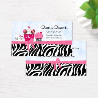 Bakery Desserts Business Card