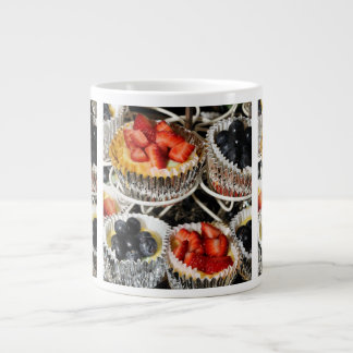 Bakery Fruit Tarts Large Coffee Mug