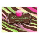 Bakery Gift Card Certificate Chocolate Cupcake Business Cards