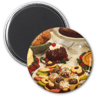 Bakery Items 2 Inch Round Magnet