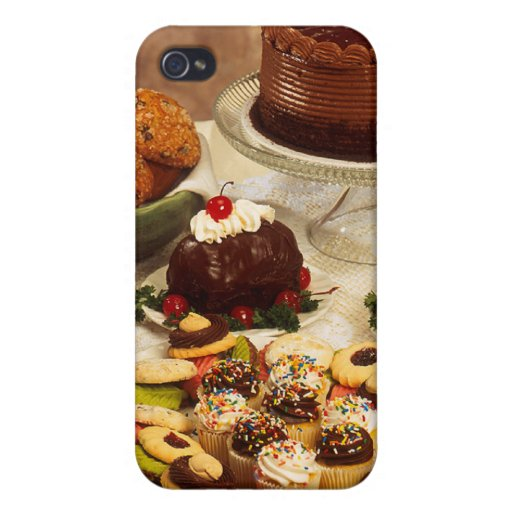 Bakery Items iPhone 4/4S Covers