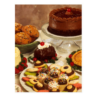 Bakery Items Post Card