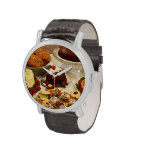 Bakery Items Wrist Watch