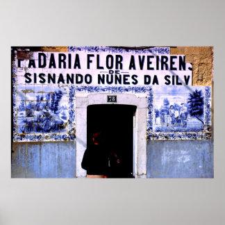 Bakery, Lisbon, Portugal Poster
