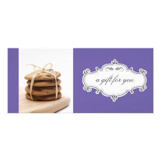 Bakery or Cookie Business Gift Certificates Rack Cards