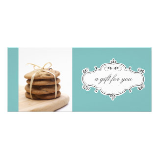 Bakery or Cookie Business Gift Certificates Customized Rack Card