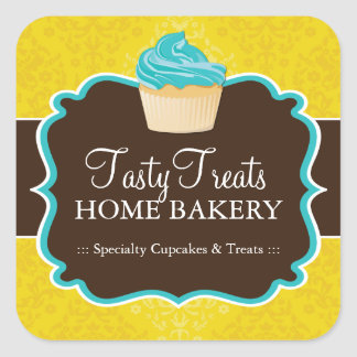 Bakery Packaging Stickers
