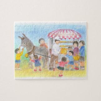 Bakery pastel of donkey jigsaw puzzle
