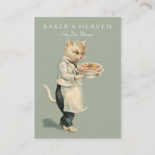 Pastry chef business cards zazzle bakery pastry chef baker restaurant caterer business card colourmoves