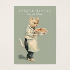 Bakery, Pastry Chef, Baker, Restaurant, Caterer Business Card at Zazzle