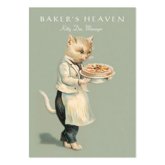Bakery, Pastry Chef, Baker, Restaurant, Caterer Large Business Card