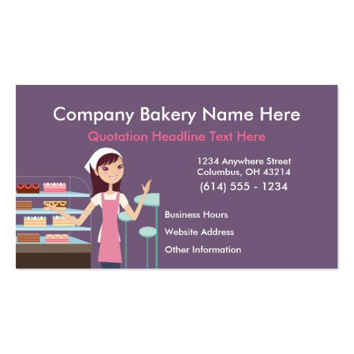 Pastry Business Plan