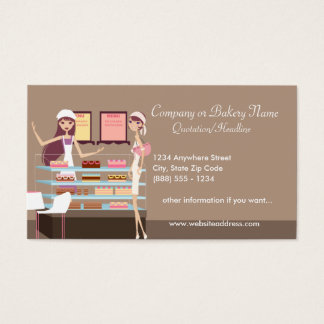 Bakery/Pastry Shop 3 Business Card