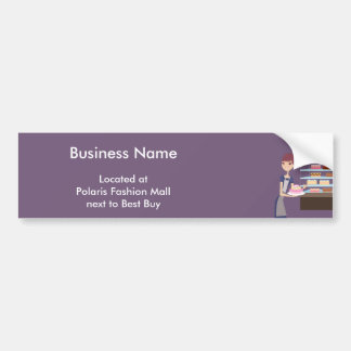 Bakery/Pastry Shop 4 Bumper Sticker
