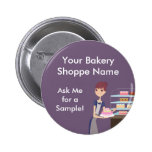 Bakery/Pastry Shop 4 Design Buttons