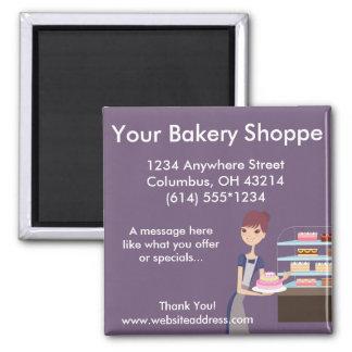 Bakery/Pastry Shop 4 Design Magnet
