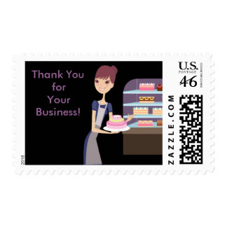 Bakery Pastry Shop 4 Design Stamps