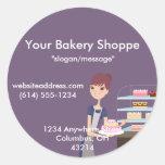 Bakery/Pastry Shop 4 Design Sticker