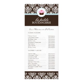 Bakery Price List Rack Card