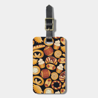 Bakery products luggage tag