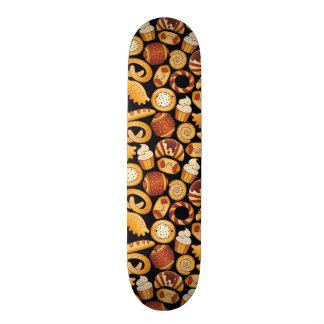 Bakery products skateboard