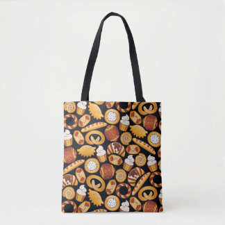 Bakery products tote bag