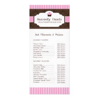 Bakery Rack Card
