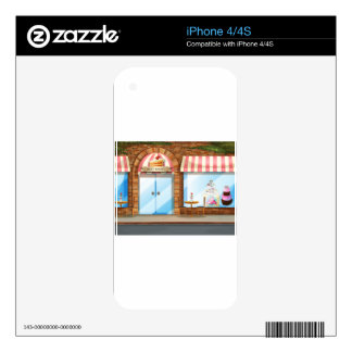 Bakery shop decal for the iPhone 4S