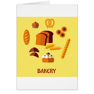 Bakery Sign Note Cards