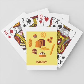 Bakery Sign Playing Cards