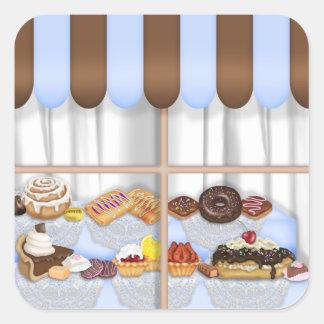 Bakery Sweet Treat Food Sticker